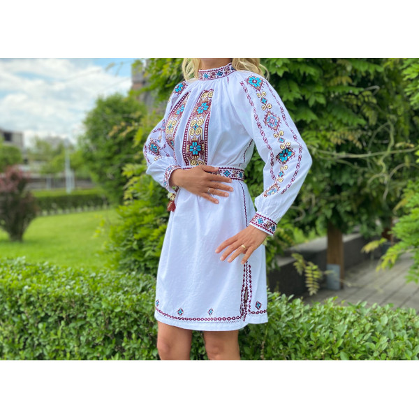 Rochie Traditionala Cer Soare Pamant